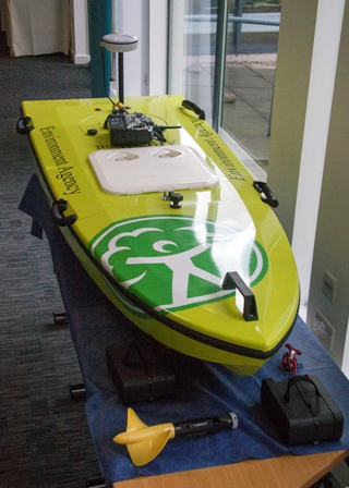 ADCP boat