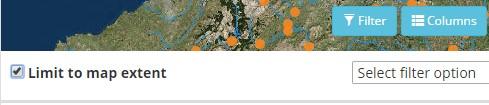 litmit to map extetn